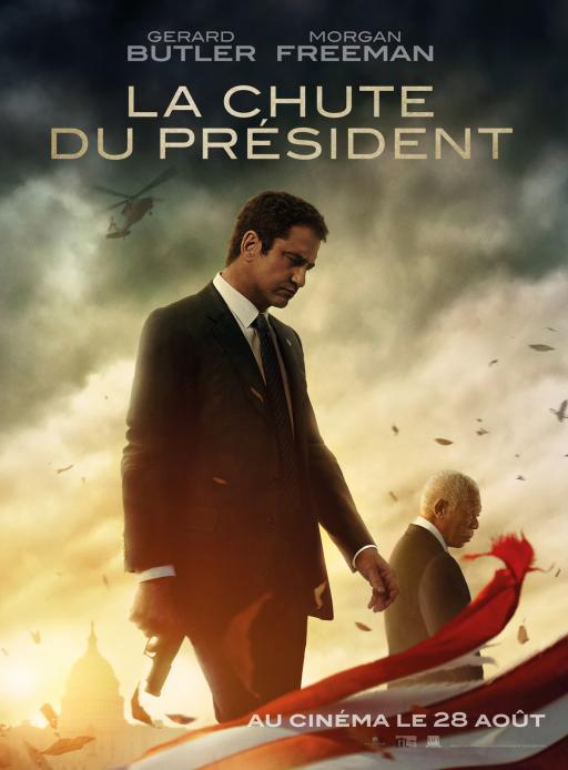 Affiche du film La Chute du président - actuellement en salle au cinéma Agora