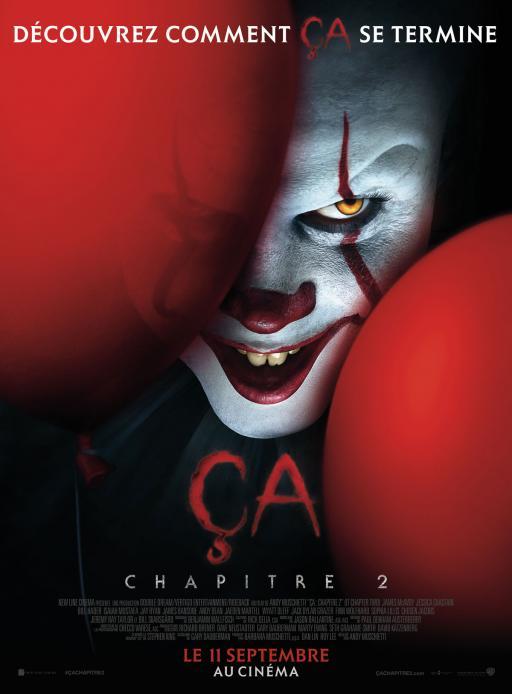 Affiche du film Ça 2 - actuellement en salle au cinéma Agora