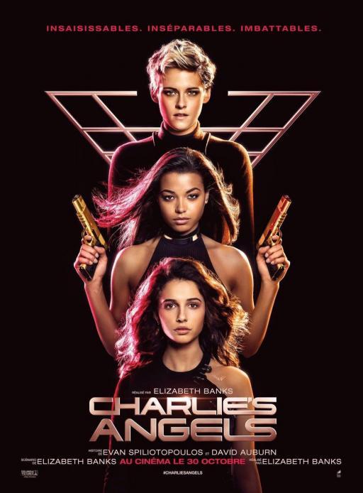 Affiche du film Charlie's Angels - actuellement en salle au cinéma Agora
