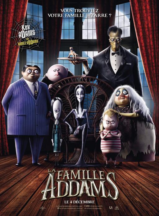 Affiche du film La Famille Addams - actuellement en salle au cinéma Agora
