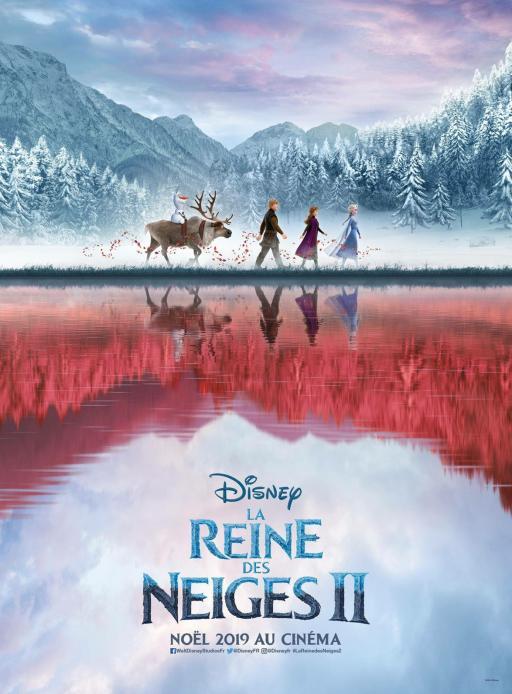 Affiche du film La Reine des neiges 2 - actuellement en salle au cinéma Agora