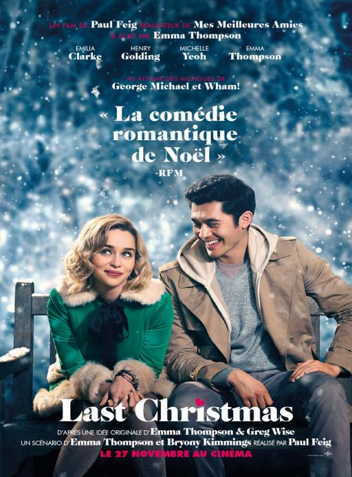 Affiche du film Last Christmas - actuellement en salle au cinéma Agora