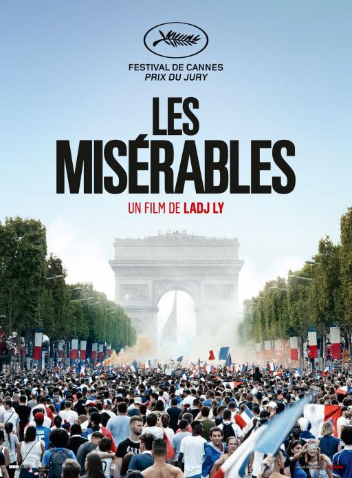 Affiche du film Les Misérables - actuellement en salle au cinéma Agora
