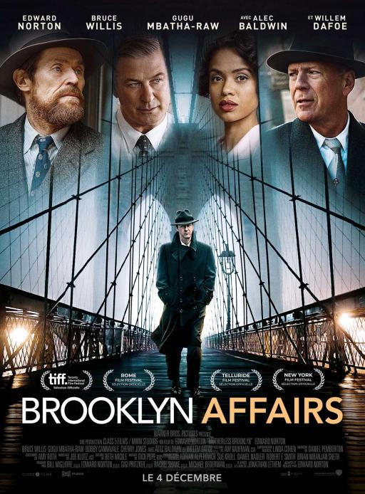 Affiche du film Brooklyn Affairs - actuellement en salle au cinéma Agora