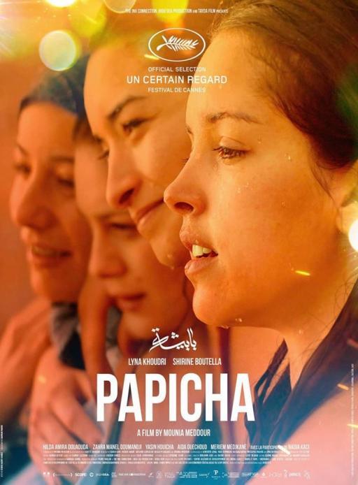 Affiche du film Papicha - actuellement en salle au cinéma Agora