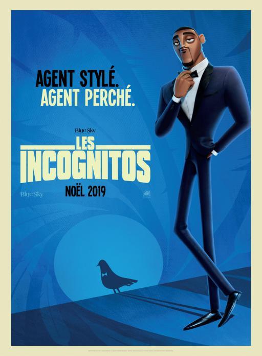 Affiche du film Les Incognitos - actuellement en salle au cinéma Agora