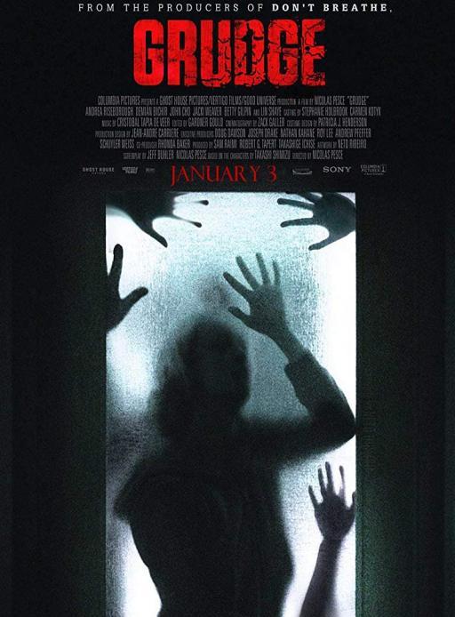 Affiche du film The Grudge - actuellement en salle au cinéma Agora