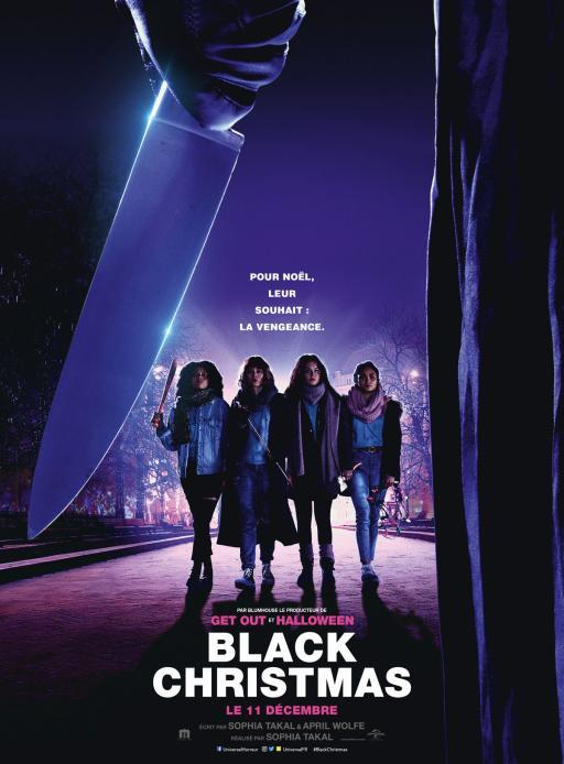 Affiche du film Black Christmas - actuellement en salle au cinéma Agora
