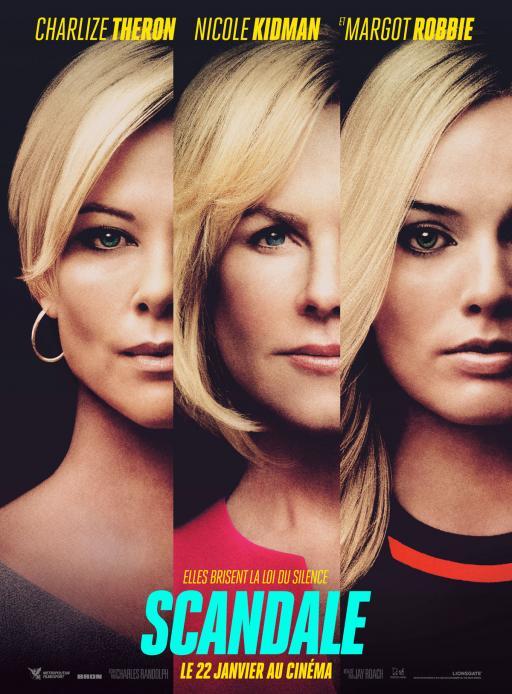 Affiche du film Scandale - actuellement en salle au cinéma Agora